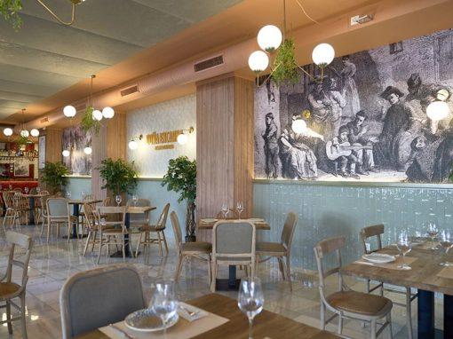 Rénovation du restaurant Doña Encarna par FABI, la fabrique des bonnes idées
