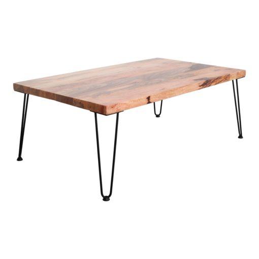HAIRPIN 40cm 4X 4 pieds de table en acier de style Mid Century, type hairpin avec extrémités en caoutchouc pour améliorer la stabilité.