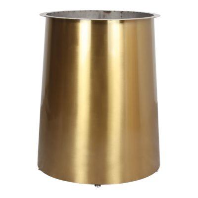 BETSY Structure centrale pour table de style Contemporain fabriquée en acier. Finition métal couleur dorée | Trouvez-la chez MisterWils2