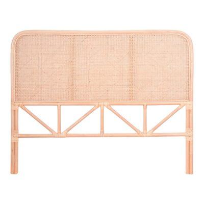 NOMAD NATURAL Tête de lit de style Japandi fabriquée en bambou et fibres de rotin naturel | Trouvez-la chez MisterWils.