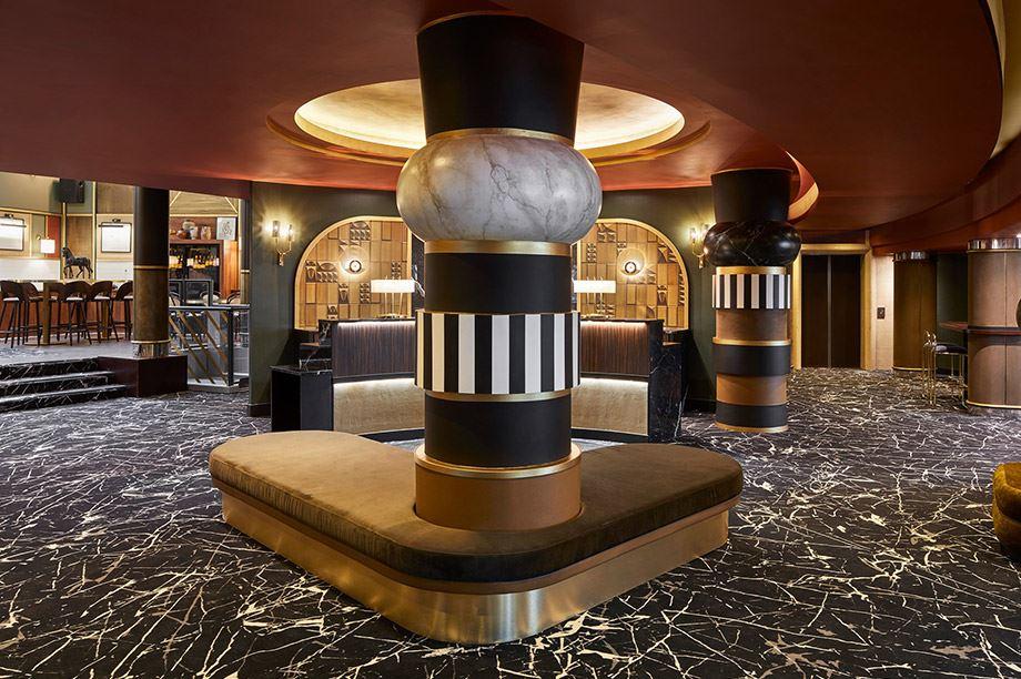 Meubles tendances pour la décoration d'hôtels