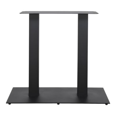 FERRO DUO Structure pour table centrale de style Mid Century / Contemporain fabriquée en acier. Finition peinture powder coated.