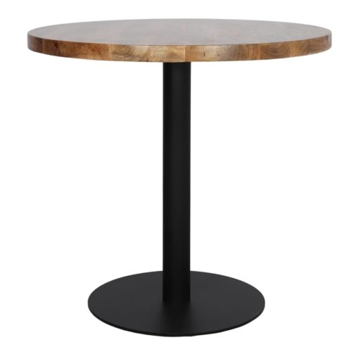 DUKE Table avec pied central de style Mid Century - Contemporain fabriqué en acier avec finition peinture powder coated.
