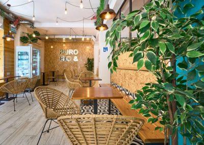 Puro&BIO s'est restructuré pour changer à la fois la décoration et le style des locaux, et pour cela ils ont opté pour les meubles de Misterwils.