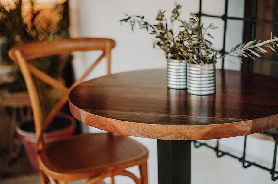Las 5 novedades en mesas de restaurantes 2