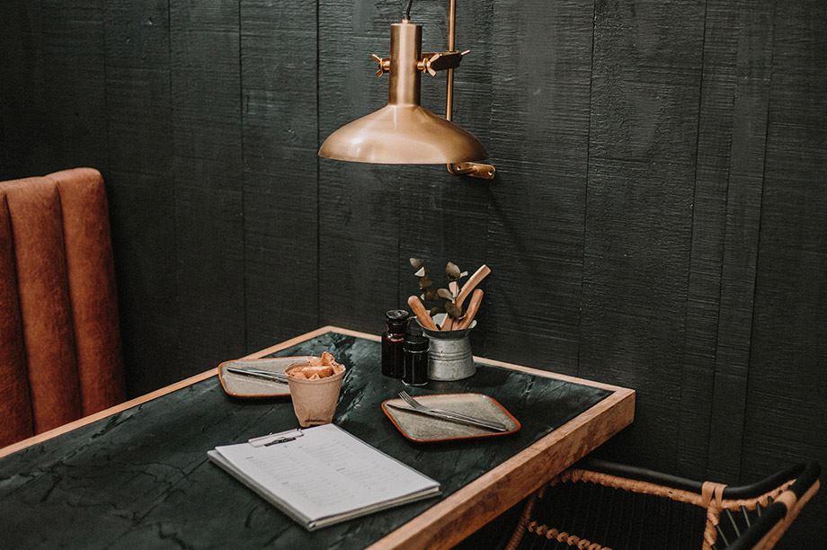 Las 5 novedades en mesas de restaurantes