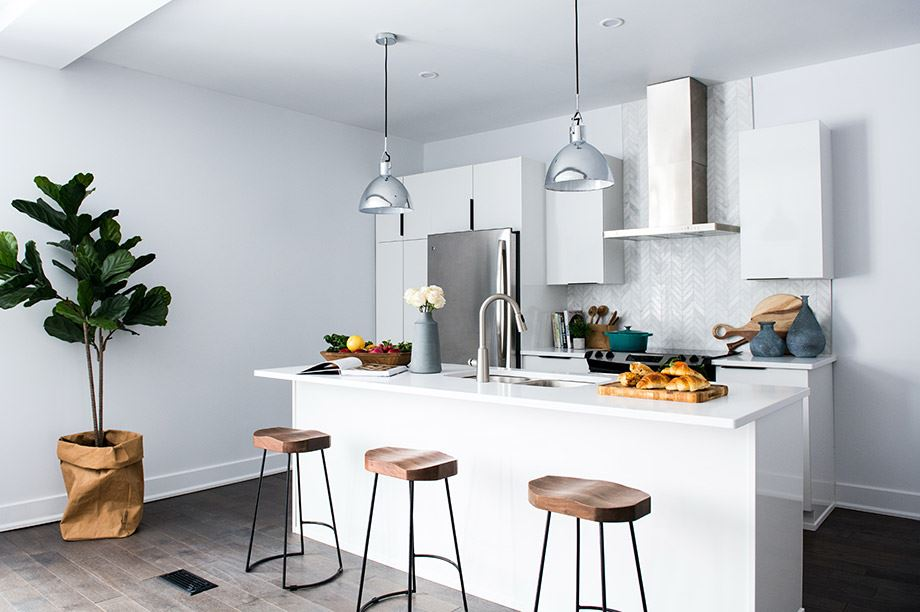 Avec les tabourets de cuisine, ou counter stools, créons des espaces design à la maison, la touche nécessaire pour créer un style très moderne4