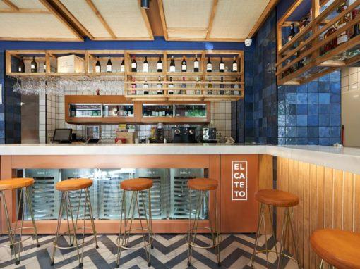 La rénovation du célèbre bar espagnol El Cateto par CM4 Architectes