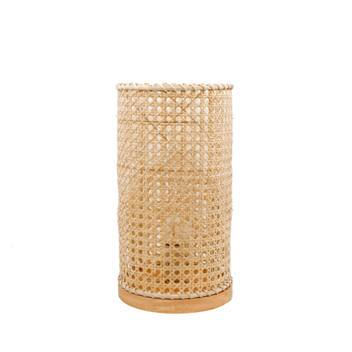 LAMPE DE TABLE YETTY en rotin naturel | Trouvez-la chez MisterWils. Plus de 4000m² d'exposition.