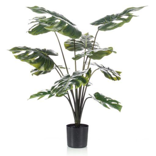 PLANTE ARTIFICIELLE DÉCORATIVE MONSTERA 12 feuilles | Trouvez-la chez MisterWils. Plus de 4000m² d'exposition.