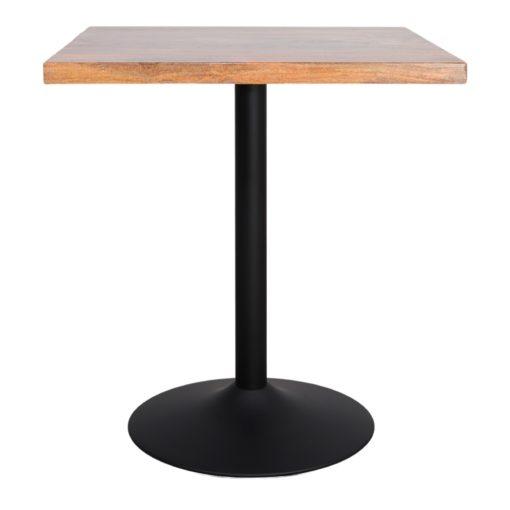 TABLE EN MÉTAL ET BOIS TULIP de style Mid Century   Trouvez-la chez MisterWils. Plus de 4000m² d'exposition. 1