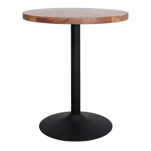 TABLE EN MÉTAL ET BOIS TULIP de style Mid Century   Trouvez-la chez MisterWils. Plus de 4000m² d'exposition. 2