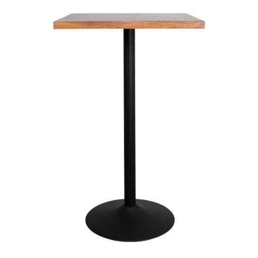 TABLE EN MÉTAL ET BOIS TULIP de style Mid Century   Trouvez-la chez MisterWils. Plus de 4000m² d'exposition. 3