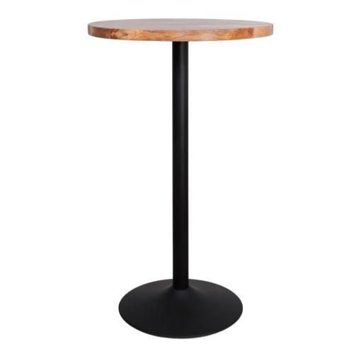 TABLE EN MÉTAL ET BOIS TULIP de style Mid Century   Trouvez-la chez MisterWils. Plus de 4000m² d'exposition. 4