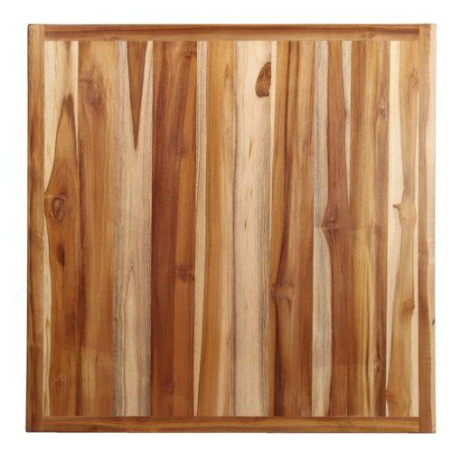 PLATEAU EN BOIS DE TECK WONKA pour table pied central | Trouvez-la chez MisterWils. Plus de 4000m² d'exposition.